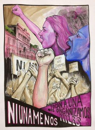 #NiUnaMenos ¡Vivas nos queremos!