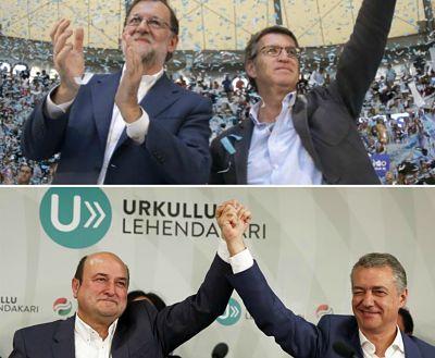 Las elecciones vascas y gallegas no desbloquean nada