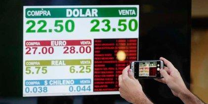 Dólar imparable: superó los $23 y el Banco Central desnuda su falta de herramientas