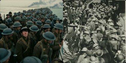 Franceses enojados por la película Dunkerque de Nolan