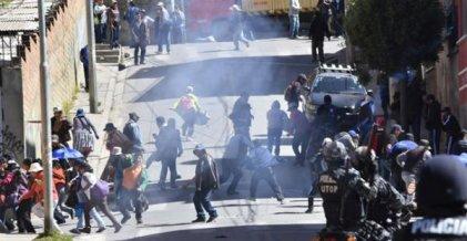 ¡Abajo el Decreto Supremo 2765 que garantiza el ataque!¡Alto a la represión!