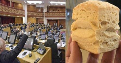 El ahorro en las dietas de los legisladores equivale a una tortilla al mes