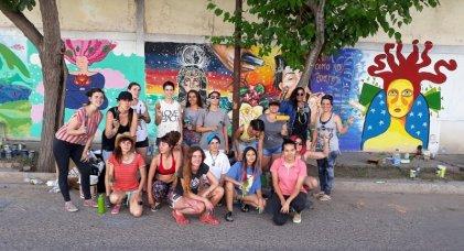 Mendoza: encuentro de muralistas contra la desigualdad de género