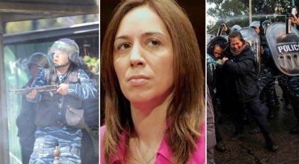 Así gobierna Vidal: la maldita Bonaerense contra municipales, Cresta Roja, PepsiCo y Astillero Río Santiago