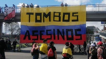 Colombia se movilizó contra el Gobierno de Duque en el día de la independencia