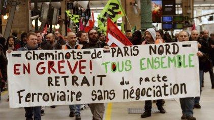 [VIDEO] Solidaridad internacionalista con los ferroviarios de Francia