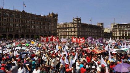 1º de Mayo en México: los sindicatos de oposición exigen salarios dignos
