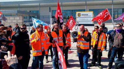Amazon Madrid: a la huelga de 72 horas en el Prime Day