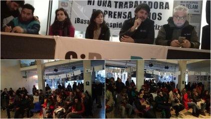 #SomosTélam: se realizó el plenario sindical abierto en apoyo a la lucha