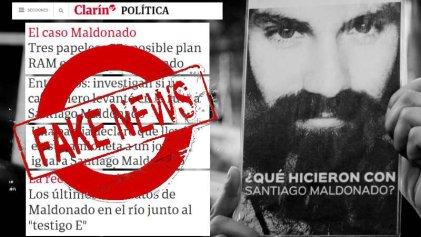 Un año de mentiras de Clarín y La Nación sobre Santiago Maldonado