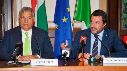 Italia y Hungría hacia un frente xenófobo y antiinmigrante