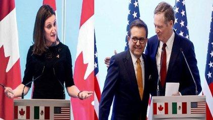 Fase final de la renegociación del TLCAN busca incorporación de Canadá