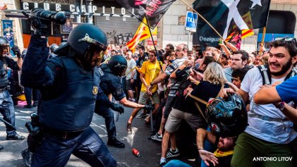 """Cataluña: """"Lo único que nos queda para la construcción de la república es nuestra clase"""""""