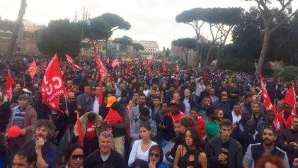 Gran jornada de lucha contra el racismo y la represión en Roma