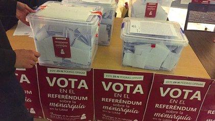 Estado español: casi 60.000 estudiantes votan por abolir la monarquía