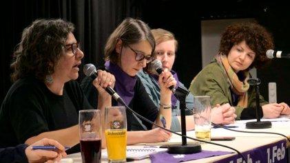 Munich: importante debate hacia la huelga internacional de mujeres del 8M