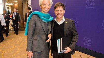 """Kicillof y su místico deseo de renegociar con el FMI """"a la portuguesa"""""""