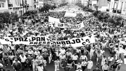 La resistencia obrera a la dictadura