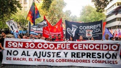 #24deMarzo: dos movilizaciones repudiaron el golpe genocida en Mendoza