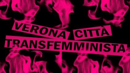 Una Verona transfeminista protesta contra el Congreso Mundial de la Familia