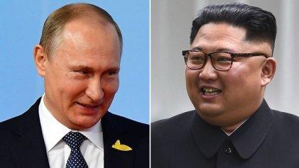 La primera cumbre entre Putin y Kim se celebrará en abril