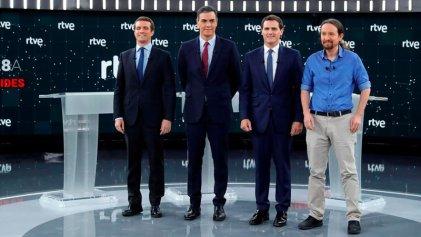 Debate electoral: Podemos como socio menor del PSOE y defensor del régimen monárquico