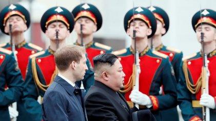 Kim Jong-un llega a Rusia para su primera cumbre oficial con Putin