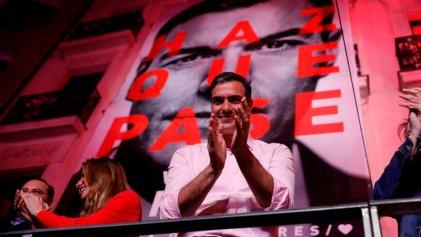 """Sánchez gana las elecciones y Podemos pide gobernar con los neoliberales """"progres"""" del PSOE"""