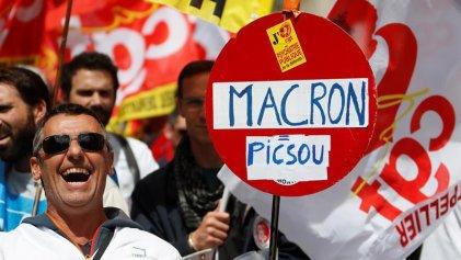 Masiva movilización en Francia de los trabajadores del sector público