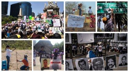 México: en el Día de la madre miles exigieron justicia por los desaparecidos