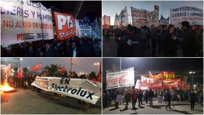 [Videos] #ParoGeneral: voces del sindicalismo combativo desde los cortes