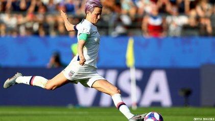 Megan Rapinoe: la futbolista que desafía a Trump