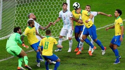 Copa América: la Selección cayó ante Brasil en su mejor partido