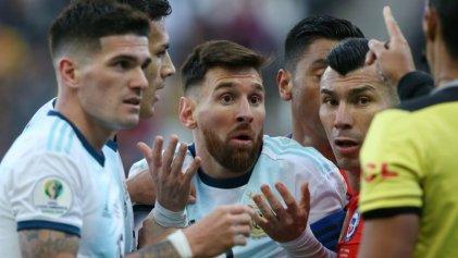 Selección Argentina: triunfo y tercer puesto con insólita expulsión a Messi