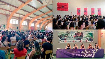 Exitosa universidad de verano internacionalista y revolucionaria en el sur de Francia