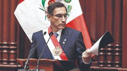 Perú: Martín Vizcarra y el adelanto de elecciones