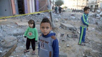 Los niños son los principales afectados por la carencia de agua en Palestina y Jordania