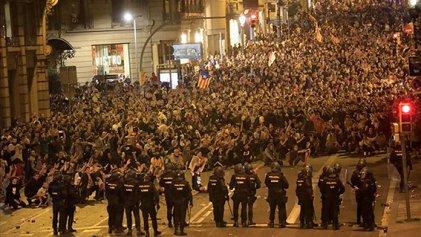 Ante la sentencia a los líderes soberanistas y la represión en Cataluña