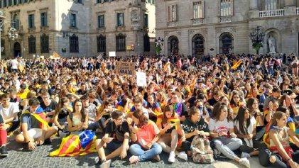Cuarta jornada de protestas en Cataluña con manifestaciones y huelga estudiantil
