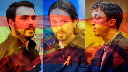 La izquierda española cruje ante la represión en Cataluña