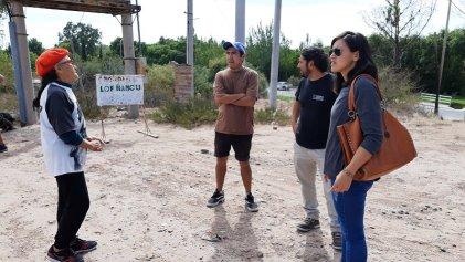 Integrantes de comunidad Ñancu se reunieron con legisladores del FIT