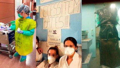 La CGT catalana compró 10.000 mascarillas para los trabajadores de la salud