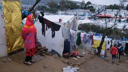 Trampa mortal: Grecia dicta la cuarentena en un campo de refugiados