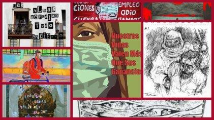 Artistas se suman a la convocatoria frente a la pandemia