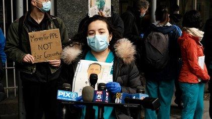Coronavirus: Repercusiones de protesta de enfermeras en Nueva York