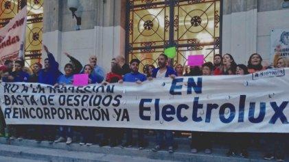Dossier: A un año de la lucha de Electrolux los trabajadores siguen la pelea por la reincorporación