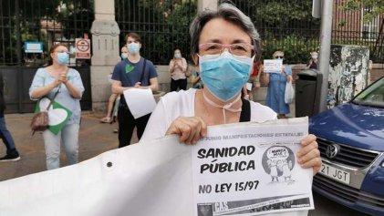 La lucha por la sanidad pública toma las calles en 40 ciudades del Estado español