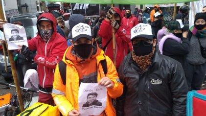 #AbajoLaLeyDeLarreta: tuitazo de repartidores que protestan en la Legislatura