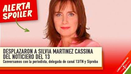 """Silvia Martínez Cassina: """"Este hostigamiento es porque no me callo"""""""
