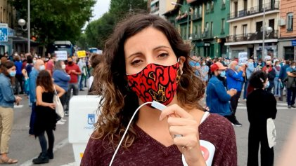 Acciones en Madrid contra el confinamiento selectivo en barrios populares